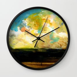 Abstract Nature XVIII Wall Clock