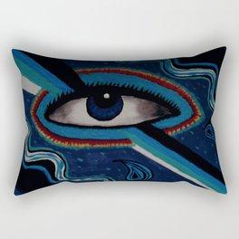 Third Eye Vision Rectangular Pillow