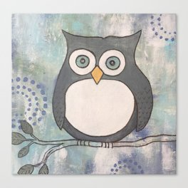 Owl I Need is You Canvas Print