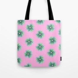 Geo Spring Flowers 03 Tote Bag