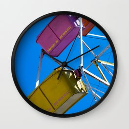Ferris_Wheel - 3, Northern Michigan Wall Clock