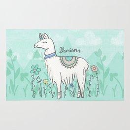 Llamicorn Rug
