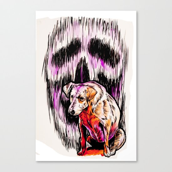 Street Dog Soul Canvas Print