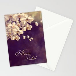 Moon Orchid Stationery Cards