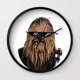 Chewie Down For What Wall Clock