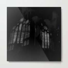 Stained-glass Metal Print