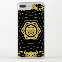 everything • is • golden ∆ Clear iPhone Case