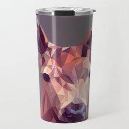 Deer geometric new Travel Mug