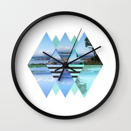 Sweden In A Different Perspective Wall Clock
