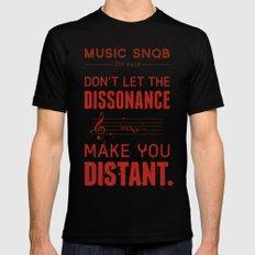 Spooky Scary Dissonance! — Music Snob Tip #439.5 Black MEDIUM Mens Fitted Tee