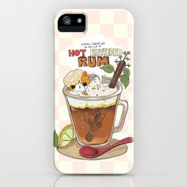 Hot buttered Rum iPhone Case