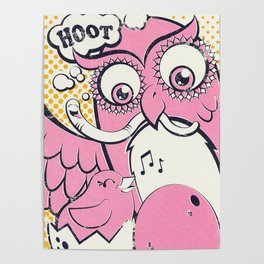 Isla the Owl Poster