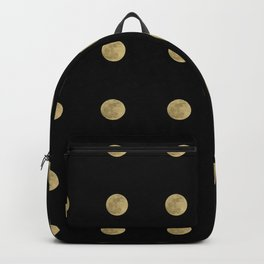 Supermoon Pattern Backpack