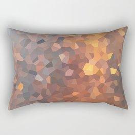 Amber Moon Lights Rectangular Pillow