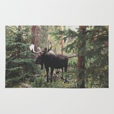 The Modest Moose Rug