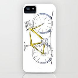 Racing Road Bike iPhone Case