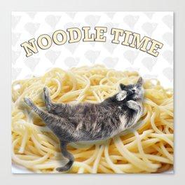 Noodle Time Canvas Print