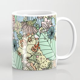 Nature Bloom Pattern Coffee Mug