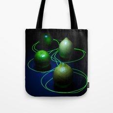 Lemon n Lime Lazer Funk Tote Bag