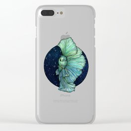 Rainbow Waters: The Betta Fish Clear iPhone Case