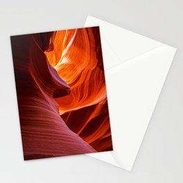 SCULPTURE OF NATURE ANTELOPE CANYON ARIZONA PHOTOGRAPHY Stationery Cards