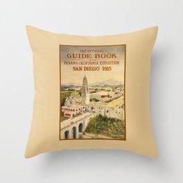 1915 Panama–California Exposition Throw Pillow