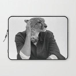 Cheetah Model Animal Laptop Sleeve