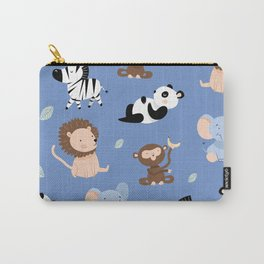 The jungle animals pattern Carry-All Pouch