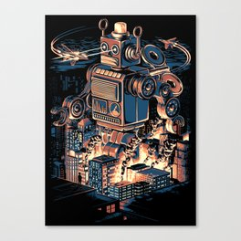 Night of the Toy Canvas Print