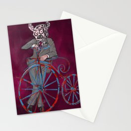 Barry Gangster Farthing - Red Stationery Cards