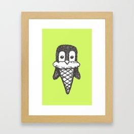 Penguin Cone Framed Art Print