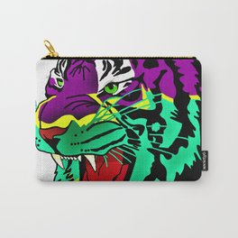 Rainbow Animals - Tiger Carry-All Pouch