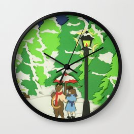 The Land of Spare Oom Wall Clock