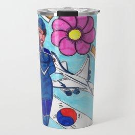 Fly To Korea With Me Travel Mug
