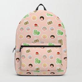 GG Pattern Ladies Backpack