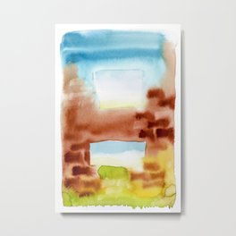 Ventanas Metal Print