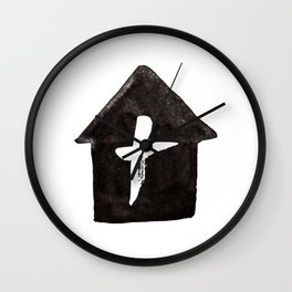 His House Wall Clock
