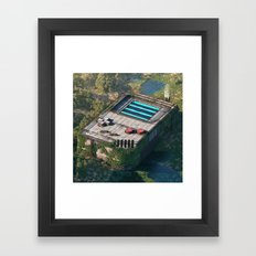 Ancient Gameboy Framed Art Print