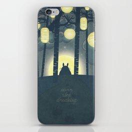 Totoro ' s Dream  iPhone Skin