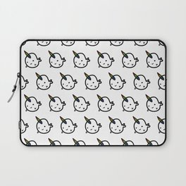 RAINBOW BUDDY NARWHALS Laptop Sleeve