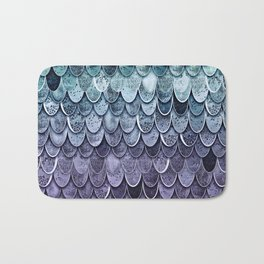 MAGIC MERMAID - MYSTIC TEAL-PURPLE Bath Mat