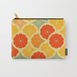Summer Citrus Slices Carry-All Pouch