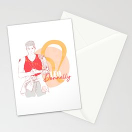 Donnelly - Leo Star Sign Stationery Cards