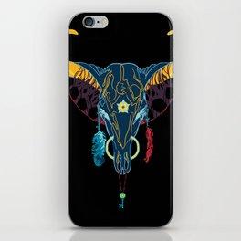 Technicolor Cowboy iPhone Skin