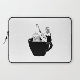 Laid-Back Time Laptop Sleeve