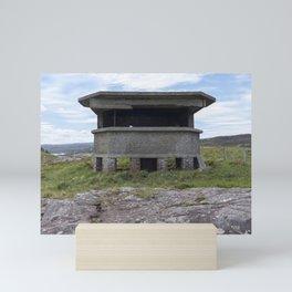 Cove Battery observation post Mini Art Print