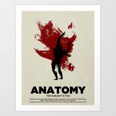 ANATOMY Art Print