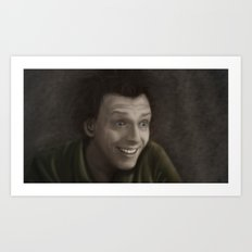 Drop Dead Fred Art Print