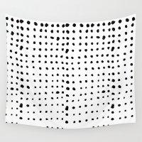 dots Wall Tapestries featuring Dots by Joe Shmo