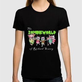 The Zombie World of Richard Scarry T-shirt